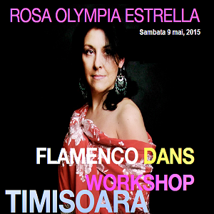 Workshop de flamenco la Timisoara!